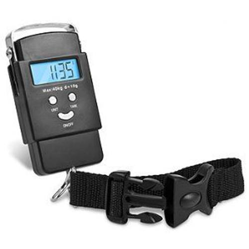 Kabalo Portable Handheld Digital Luggage Scales Balance Weighing Suitcase 40kg capacity with strap - 2 x AAA batteries included!