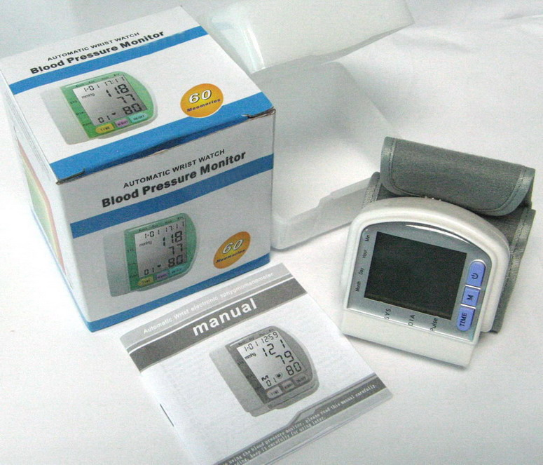 Kabalo Traditional Digital Automatic WRIST Blood Pressure Monitor with plastic carry case included!