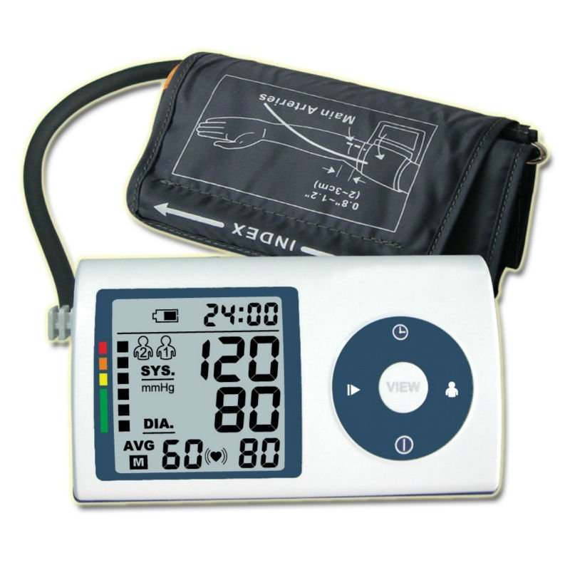 Kabalo Automatic Digital UPPER ARM Blood Pressure Monitor with faux leather carry case included!