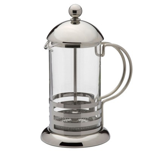 Kabalo Classic 350ml / 3-cup Stainless Steel Glass Cafetiere French Filter Coffee Press Plunger