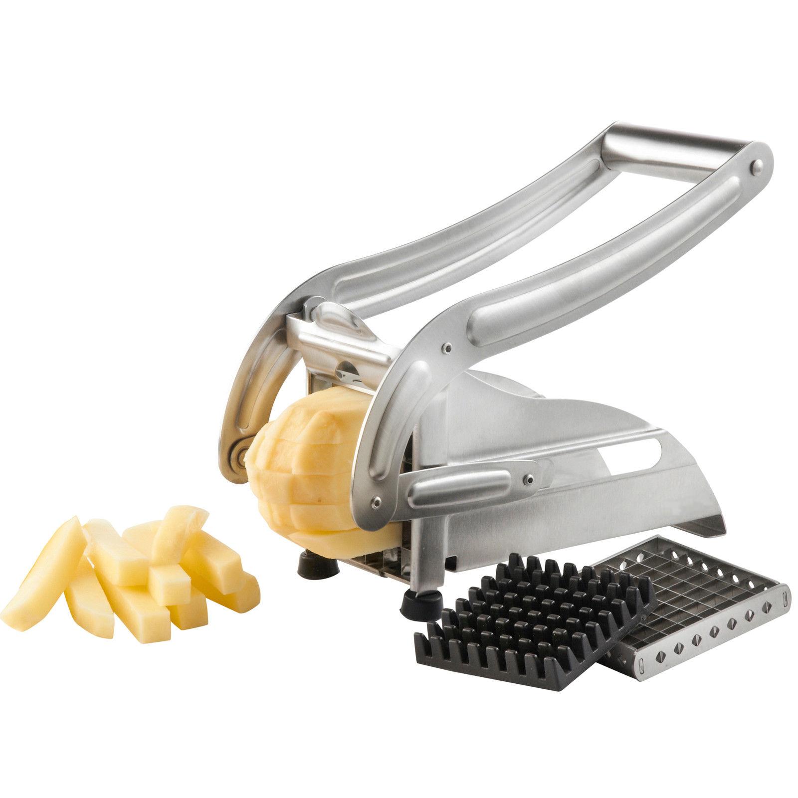 Kabalo Stainless Steel Potato Chips French Fries Chipper Slicer Cutter Chopper