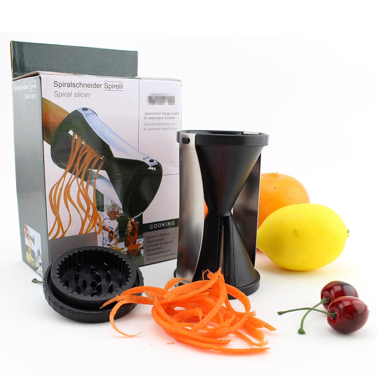 Kabalo Vegetable & Fruit Spiral Slicer Shred Process Device Cutter Peeler Kitchen Tool